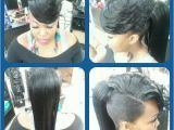 Black Hairstyles Bangs Ponytails Pony with Side Swept Bangs Dope I Would Probably Bun It Up Really