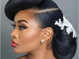 Black Hairstyles for Weddings 2018 41 Wedding Hairstyles for Black Women to Drool Over 2018