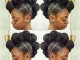 Black Hairstyles High Buns 50 Updo Hairstyles for Black Women Ranging From Elegant to Eccentric