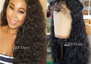 Black Hairstyles Lace Front Wigs Amazon Qd Tizer Loose Curl Synthetic Lace Front Wigs Black