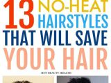 Black Hairstyles No Heat 13 Easy No Heat Hairstyles that Will Save Your Hair This Spring and