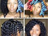 Black Hairstyles No Heat No Heat Curl formers Love My Natural Hair