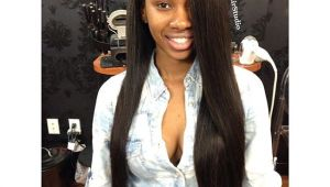 Black Hairstyles Side Part Lexxhairstudio Sew In Install W My Signature Deep Side Part for the