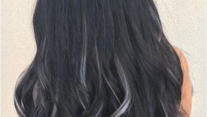 Black Hairstyles with Highlights 2019 Black Hair with Gray Highlights