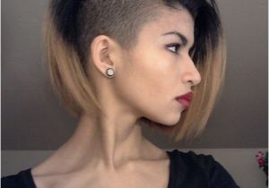 Black Queer Hairstyles Sideshave Groovy Hair Queer androgynous Pinterest