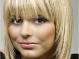 Blonde Bob Haircuts with Bangs 20 Haircuts with Bangs for Round Faces