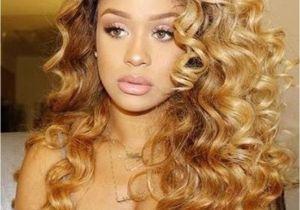 Blonde Curly Weave Hairstyles Big Honey Blonde Curlz Weave Crush