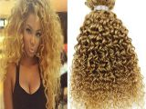 Blonde Curly Weave Hairstyles Honey Blonde Brazilian Weave Styling Hair Extensions