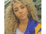 Blonde Curly Weave Hairstyles Synthetic Lace Front Wigs Hot Beauty Crochet Braided Curly
