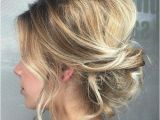 Blonde Hair Up Hairstyles 17 Best Hair Updo Ideas for Medium Length Hair