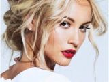 Blonde Hair Up Hairstyles Best Hairstyle for Wide Face Updos Loose