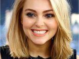 Blonde Haircut Round Face Blonde Lob Beauty Pinterest