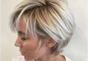 Blonde Hairstyles Back Short Hairstyle Girl Unique Short Haircut for Thick Hair 0d