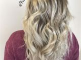 Blonde Hairstyles Dark Roots Shadow Root Smudge Root Blonde Hair Dark Roots Long Hair Curled