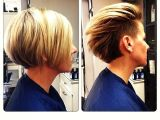 Bob Haircut From Behind Undercut Wear It Tucked Behind the Ears for A Short Look