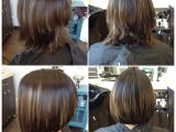 Bob Haircut Gone Wrong before and after Of An Initial Graduated Bob Gone Wrong Yelp