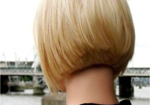 Bob Haircut Shorter In Back Short Layered Bob Hairstyles Front and Back View