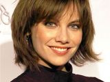 Bob Haircut with Bangs and Layers Short Layered Bob with Bangs Hairstyle for Women & Man