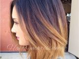 Bob Haircut with Ombre Highlights 20 Hottest New Highlights for Black Hair Popular Haircuts