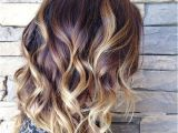Bob Haircut with Ombre Highlights 27 Long Bob Hairstyles Beautiful Lob Hairstyles for