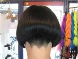 Bob Haircut with Shaved Nape 15 Shaved Bob Hairstyles Ideas