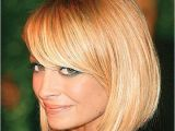 Bob Haircut with Side Swept Bangs This Seasons Best Short Hairstyles for Round Faces Women
