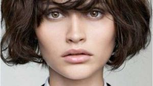 Bob Haircuts for Thick Hair with Bangs Layered Bob with Bangs for Thick Hair
