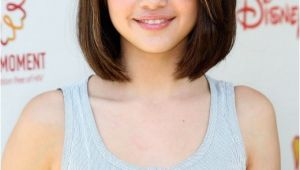 Bob Haircuts for Young Girls Hollywood Teen Celebrity Selena Gomez Hairstyles for Girls