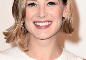 Bob Haircuts Rosamund Pike Our 10 Favorite Haircuts for Spring