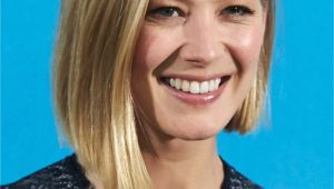 Bob Haircuts Rosamund Pike Rosamund Pike Heart Shape Face Regal Rosamund