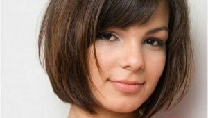Bob Haircuts with Bangs for Round Faces 16 Cute Easy Short Haircut Ideas for Round Faces