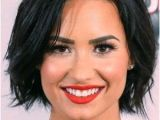 Bob Hairstyles Demi Lovato Demi Lovato Hair Pinterest