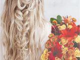 Bohemian Wedding Hairstyles for Long Hair Trubridal Wedding Blog