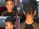 Box Braid Bun Hairstyles Single Braid Updo Style Perfect 4 Any formal Occasion