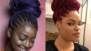 Box Braid Hairstyles Pictures Box Braids Bun Hairstyles You Will Swear with