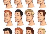 Boy Hairstyles Clipart Male Hairstyles Drawing Drawing Hair