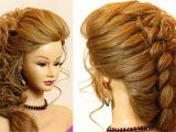 Braid Hairstyles for Long Hair Youtube Bridal Hairstyle for Long Hair Tutorial with Braid