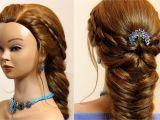Braid Hairstyles for Long Hair Youtube Easy Hairstyle for Long Hair 4 Strand and Fishtail Braid