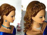 Braid Hairstyles for Long Hair Youtube Prom Hairstyle with 4 Strand Braid for Long Hair