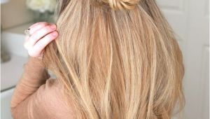 Braid Hairstyles Half Up Half Down Tutorial Image Result for Rose Bun Half Up Half Down