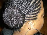 Braided Bun Black Hairstyles Braided Hairstyles for Black Women Super Cute Black