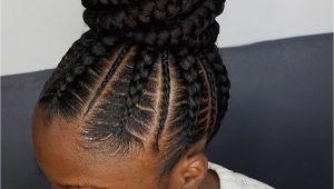 Braided Bun Black Hairstyles Flawless Braided Bun by Narahairbraiding Black Hair