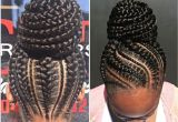Braided Bun Hairstyles for Black Women Braided Bun Black Natural Hairstyles In 2018 Pinterest