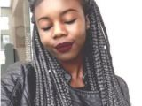 Braided Hairstyles for Grey Hair Love the Gray but I Would Mix It Up with Black Braids as Well Long