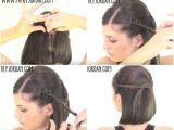 Braided Hairstyles for Short Hair Step by Step Short Hair Easy Hairstyles