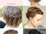 Braided Hairstyles for Short Hair Step by Step Short Hairstyle Step by Step