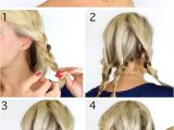 Braided Hairstyles for Short Hair Tutorials 20 Diy Wedding Hairstyles with Tutorials to Try Your Own