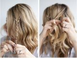 Braided Hairstyles for Short Hair Tutorials Valentine S Day Hairstyle Tutorial Heart Braid Hairstyle