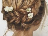Braided Hairstyles for Short Hair Wedding 24 Chic Wedding Hairstyles for Short Hair Prom Hair