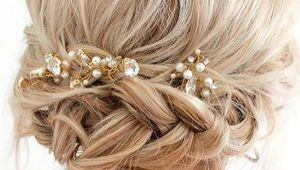 Braided Hairstyles for Short Hair Wedding 33 Amazing Prom Hairstyles for Short Hair 2019 Hair